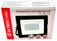 Прожектор Ultraflash LFL 3001 C02 LED SMD 30 Вт, 230В, 6500К